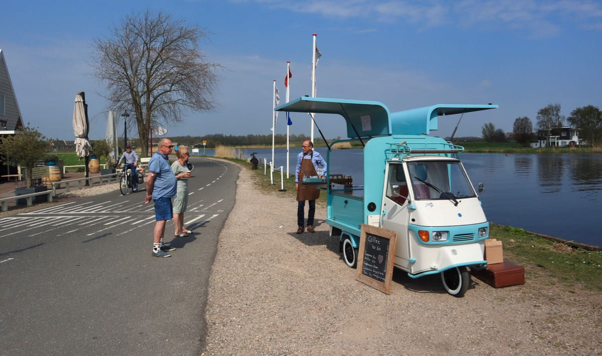 Ruud's Coffeebar van start in de Rondehoep