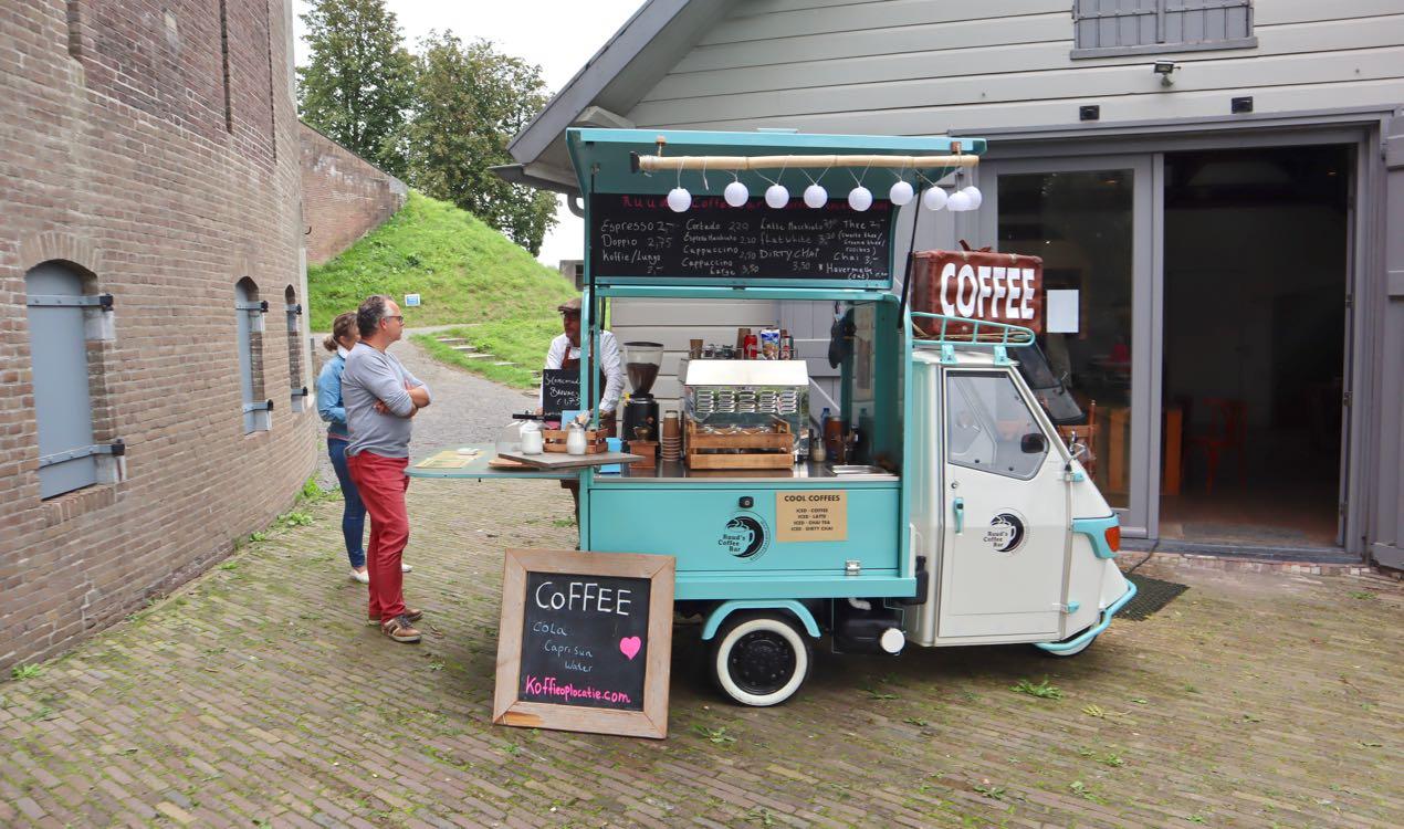 koffie op locatie Asperen