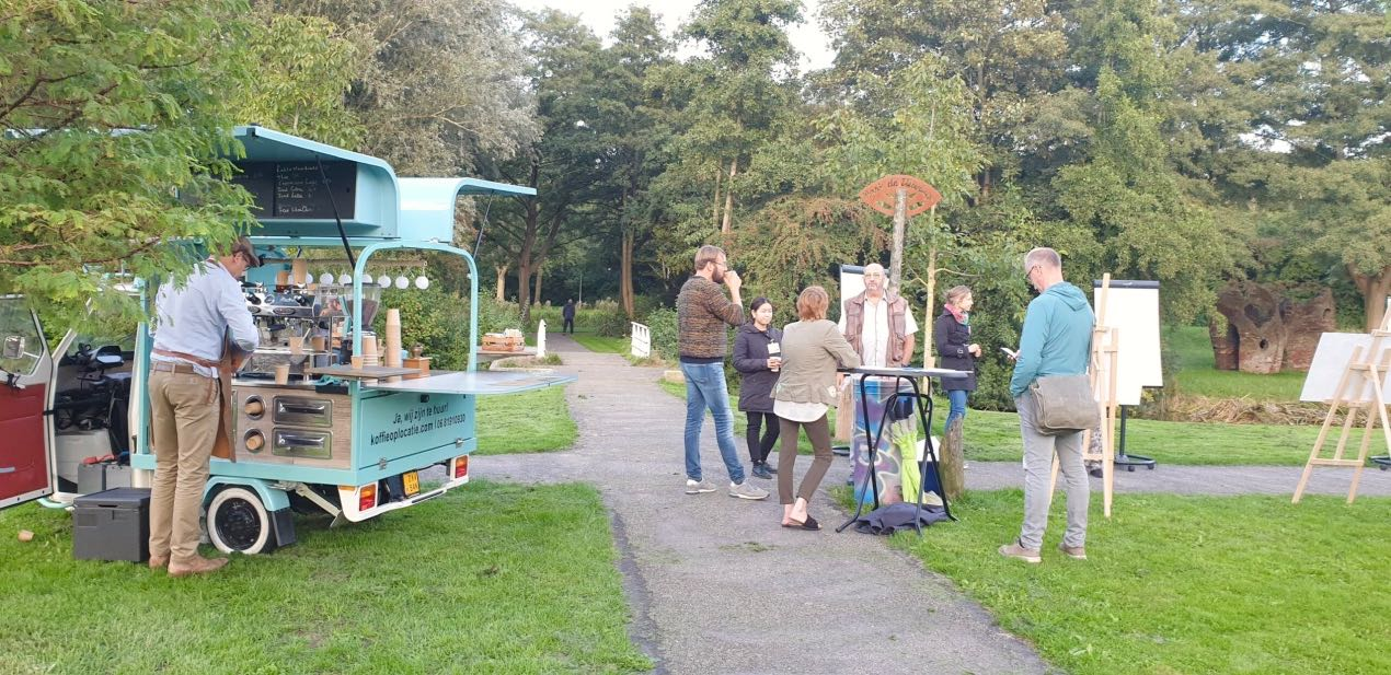 'Praten in het park' met Ruud's Coffeebar