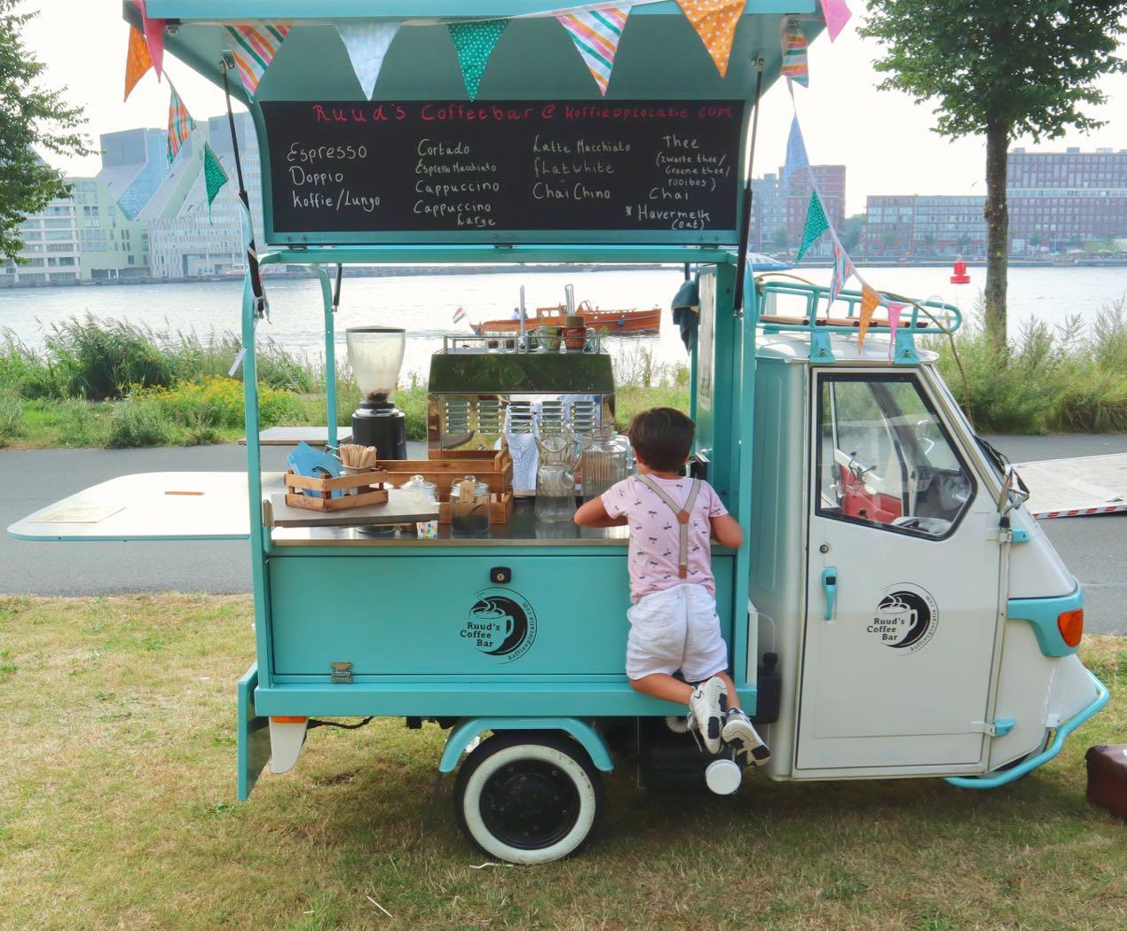 verjaardag koffie foodtruck amsterdam