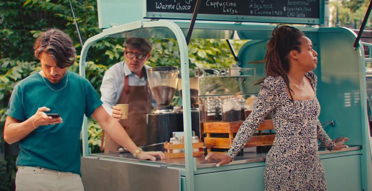 Ruud's Coffeebar in hit 'Amsterdamse meisjes'